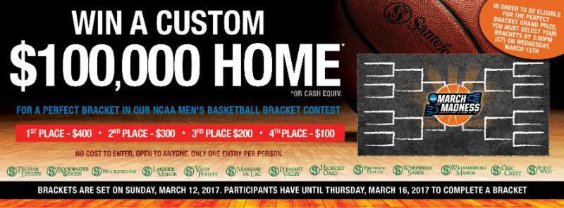 Brackets Are Set!!! Win Great Prizes In Our Free March Madness