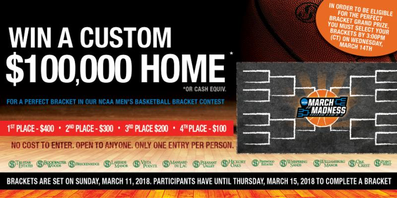 Enter To Win Great Prizes In Our Free March Madness Bracket