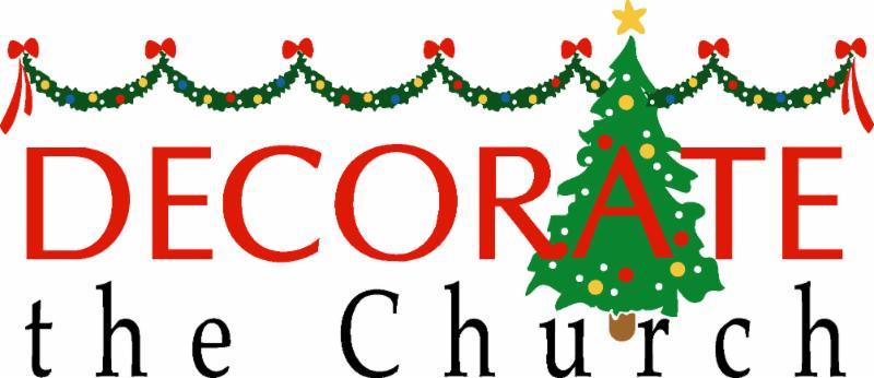 Help Decorate LUMC for Advent- Wednesday @ 1:00