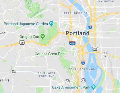 Portland Metro map