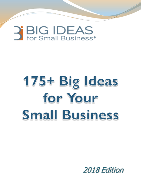 175+ Big Ideas for Your Small Business