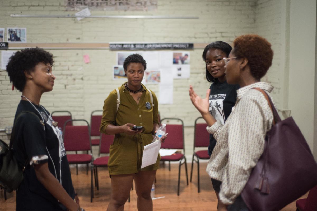 Youth HEALers meeting