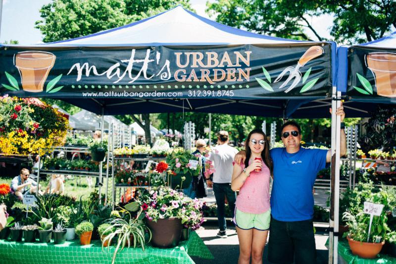 Matt's Urban Garden Hoffman's Greenhouse