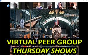 virtual peer group thursday shows has image of smithsonian institute virtual tour