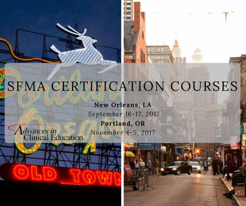 Dont Miss Your Chance To Become Sfma Certified