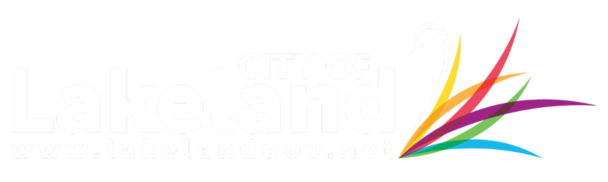City of Lakeland Alt Logo - Reverse