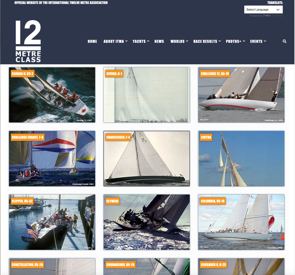ITMA website database