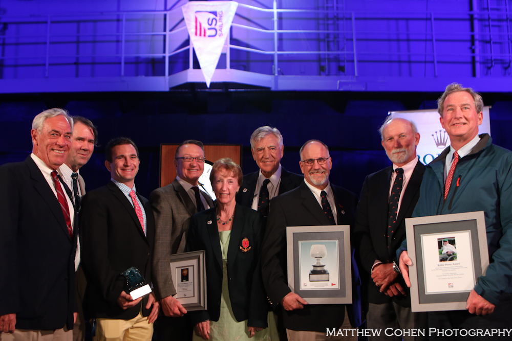 US Sailing 2019 St. Petersburg YC Trophy awarded to Ida Lewis Yacht Club and 2019 12mR World Championship Newport