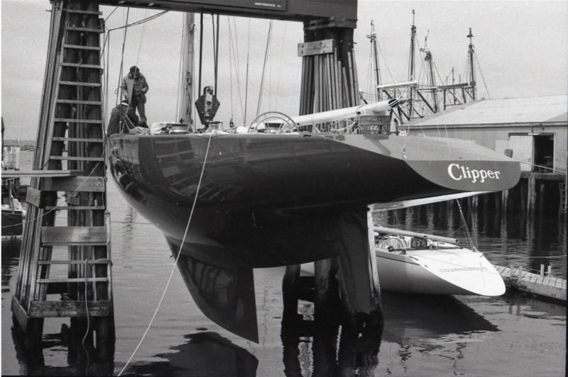 Clipper at Bannister_s Wharf