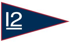 12 Metre YC Burgee