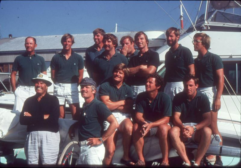 Ted Turner_s 1977 Courageous crew