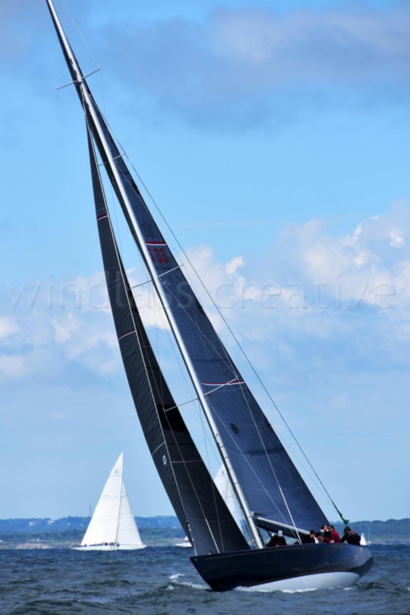 12 Metre yachts racing by SallyAnne Santos