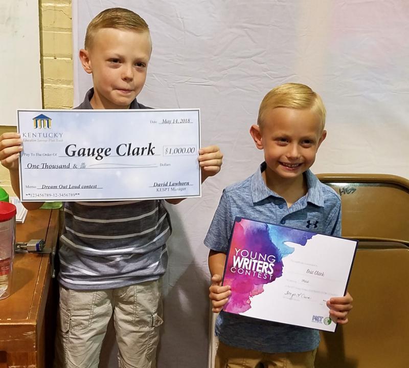 Gauge Clark and Eric Clark