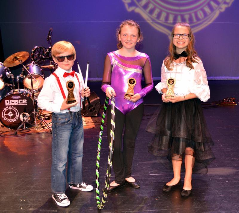 Elementary talent show winners