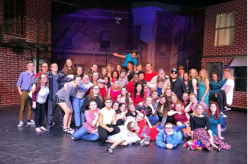 West Side Story cast photo