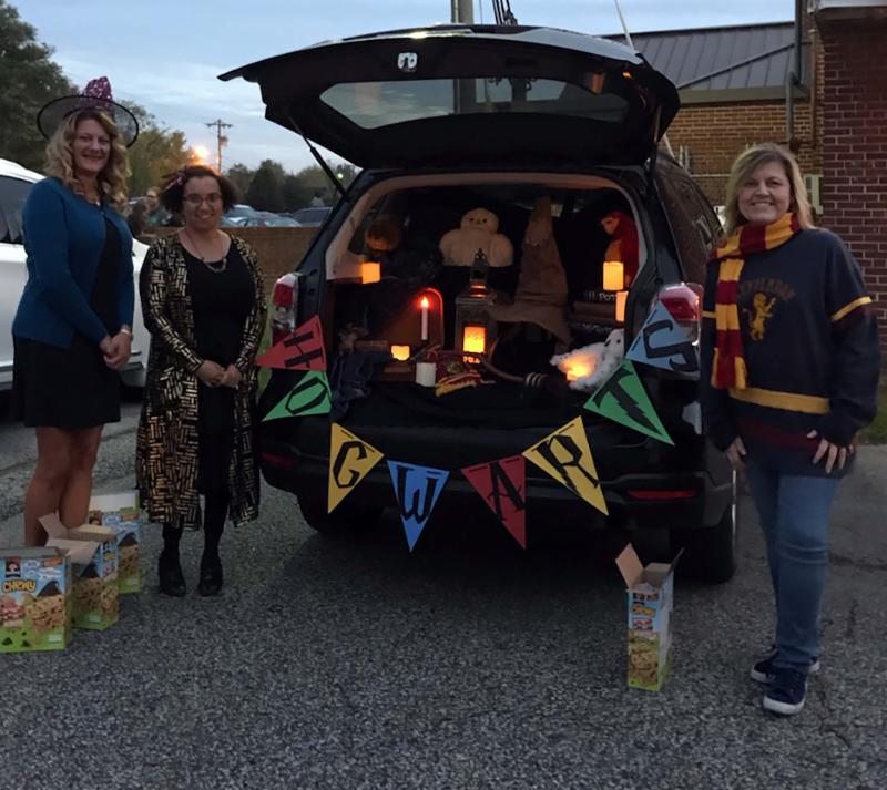 Harry Potter themed trunk
