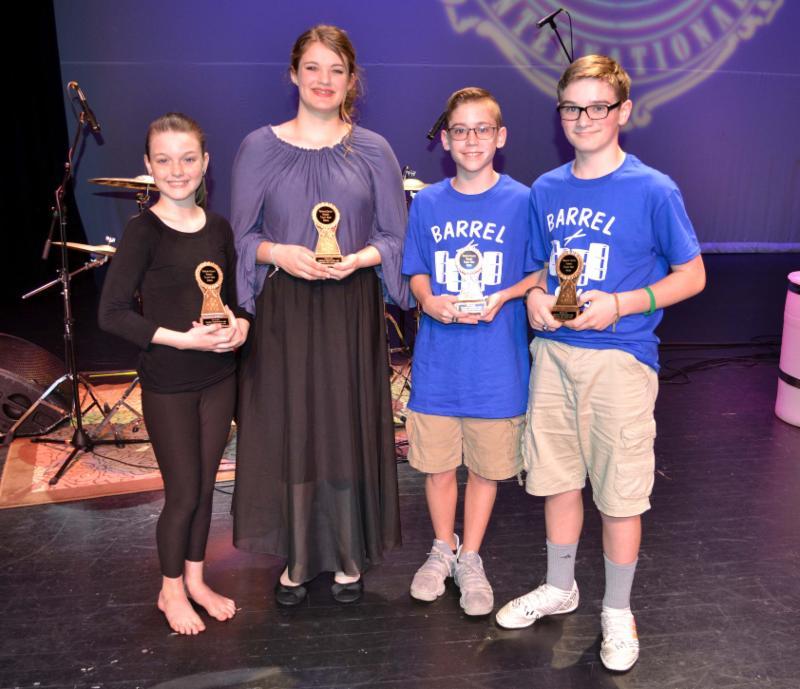 MIddle School Talent Show Winners