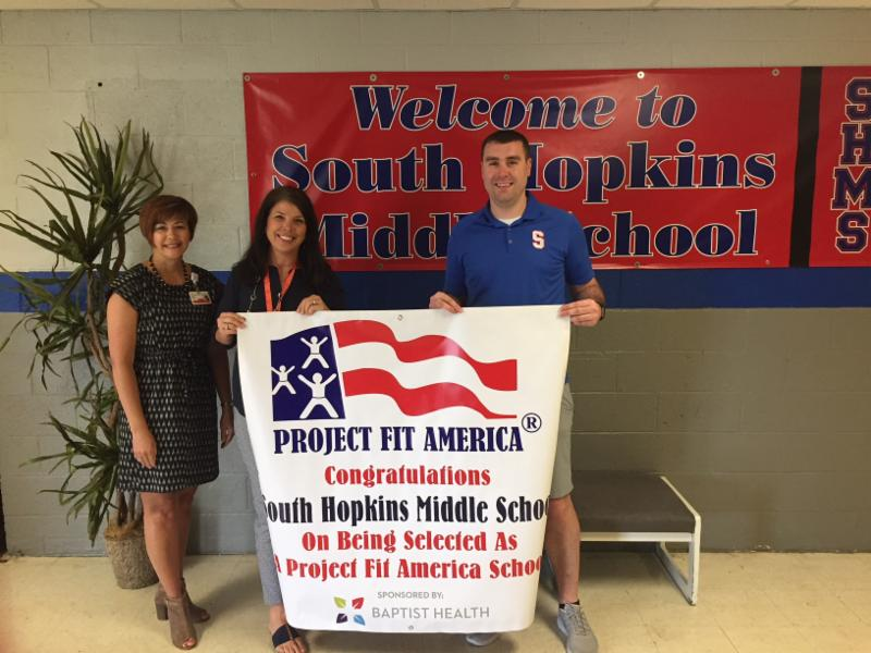 Baptist Health presents Project Fit America Banner