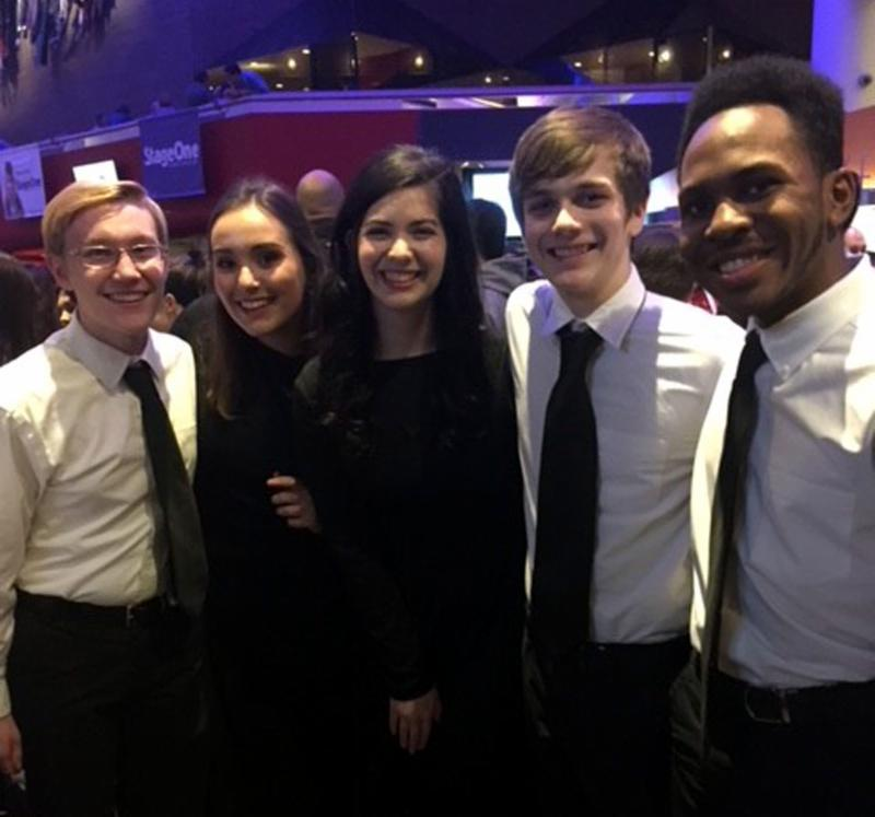 MNHHS students at All-State Choir