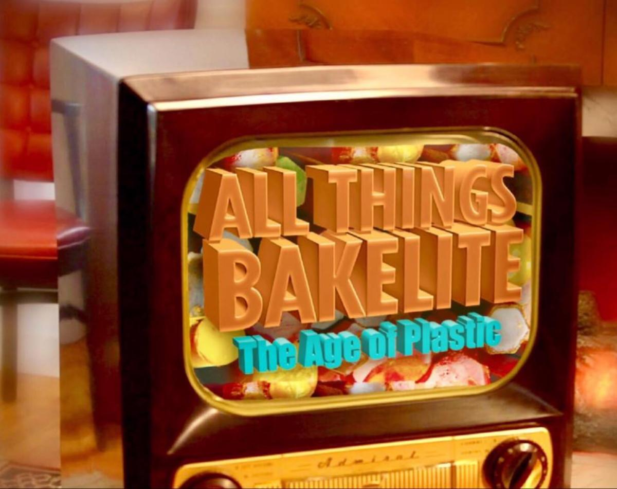Bakelite TV with ATB logo