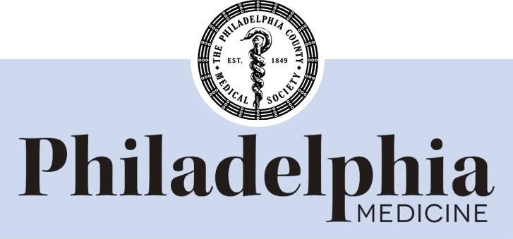 Philadelphia Medicine August 2017 Edition
