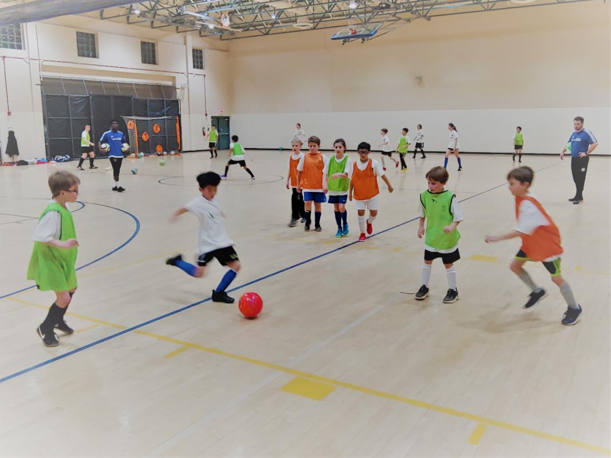 winter indoor soccer Fairfax
