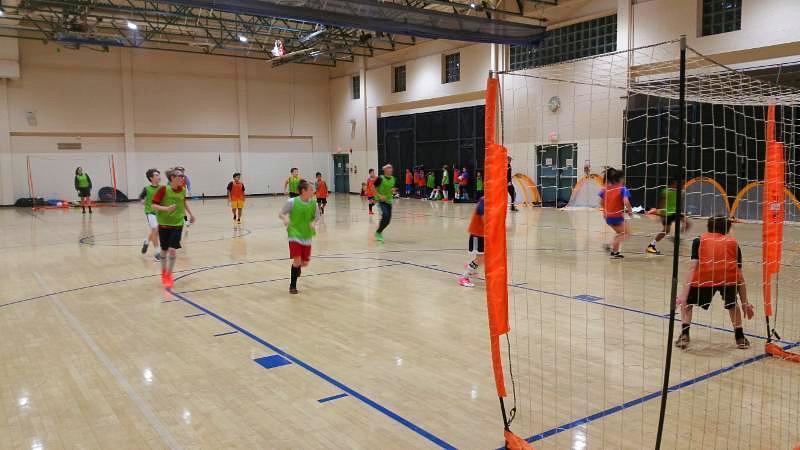 winter break soccer camp