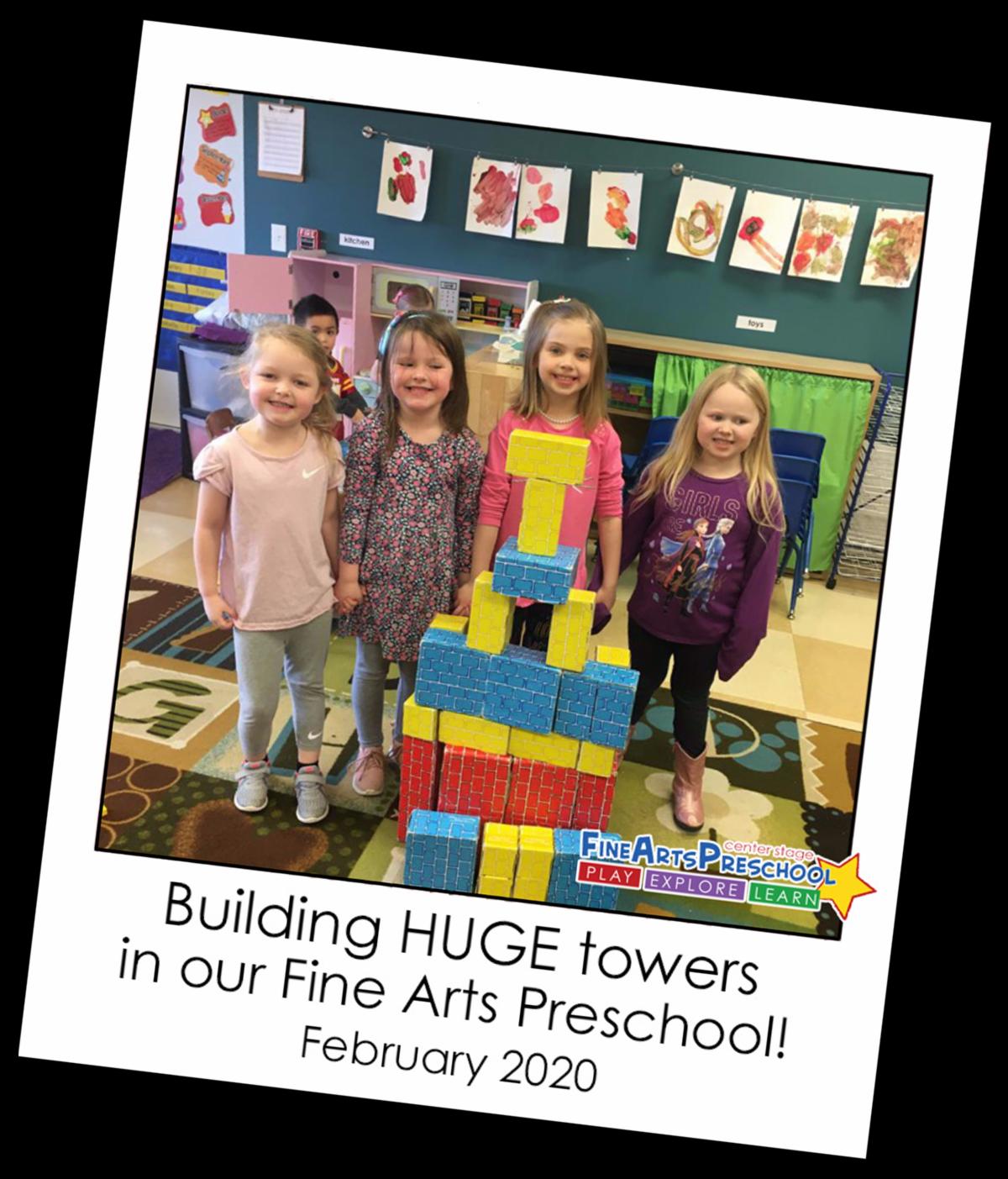 Fine Arts Preschool Snapshot 2-9-20