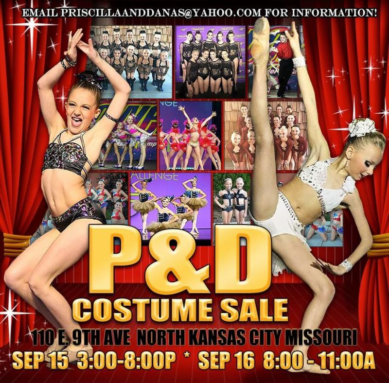 Costume Sale Flyer