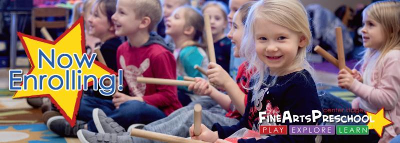 CC Fine Arts Preschool Now Enrolling