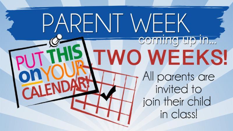 Parent Week 2019