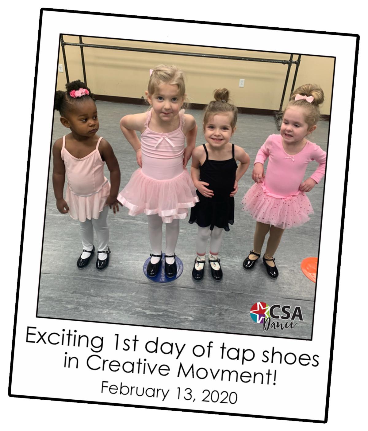 First Tap Shoes Snapshot 2-16-20