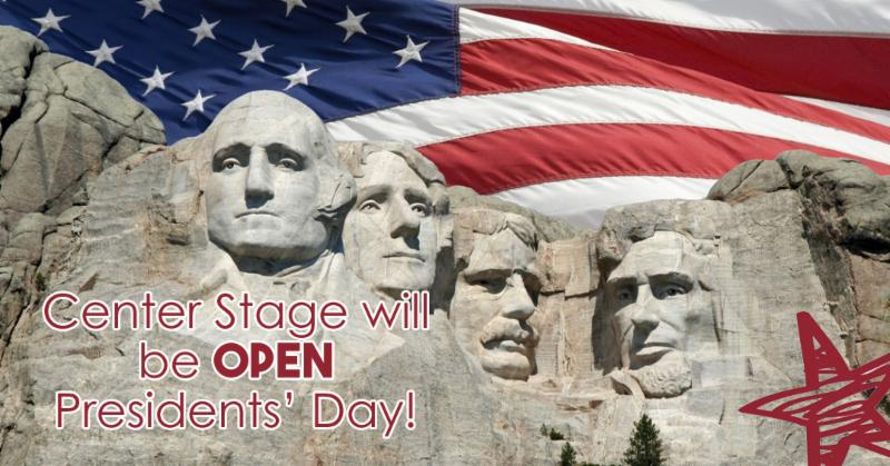 Presidents' Day Open