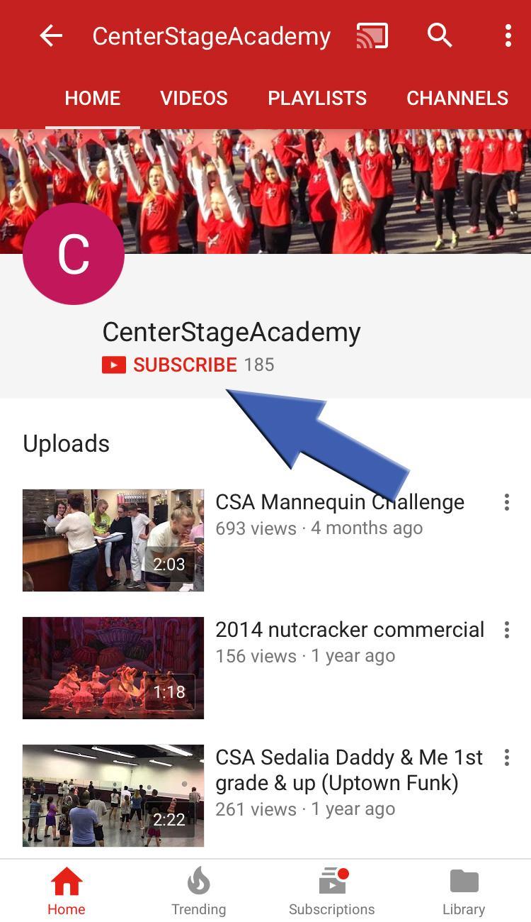 CS YouTube