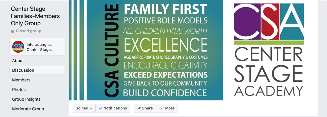 CS Studio Families- Members Only Group