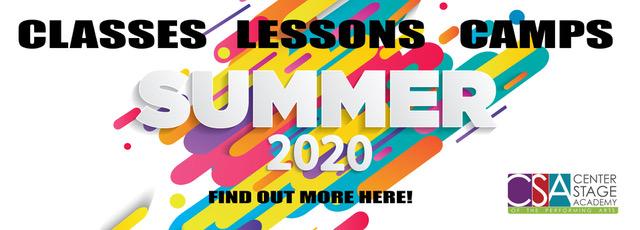 Summer 2020 At CSA