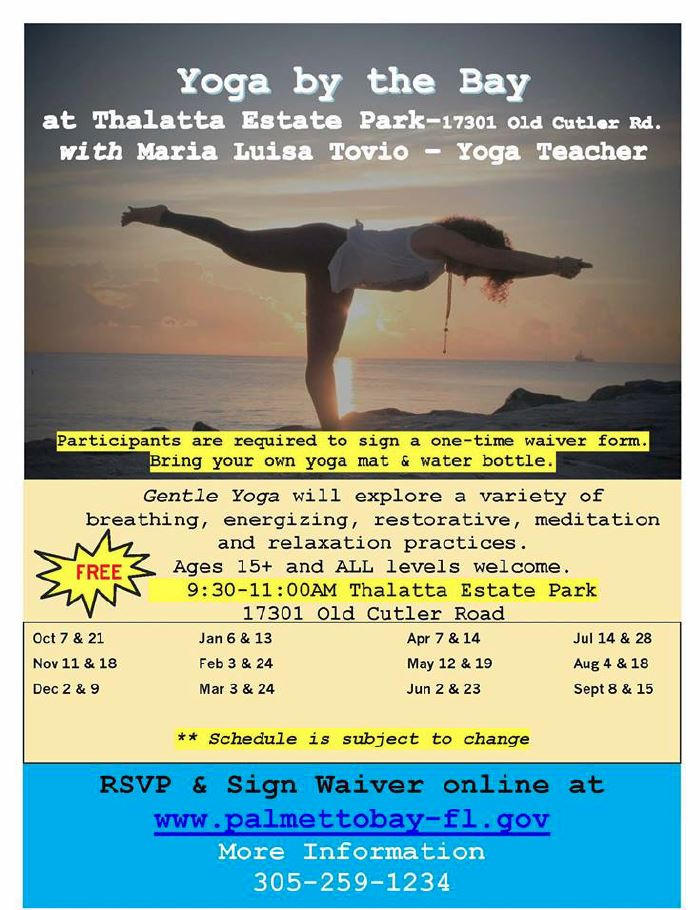 Flyer of Yoga