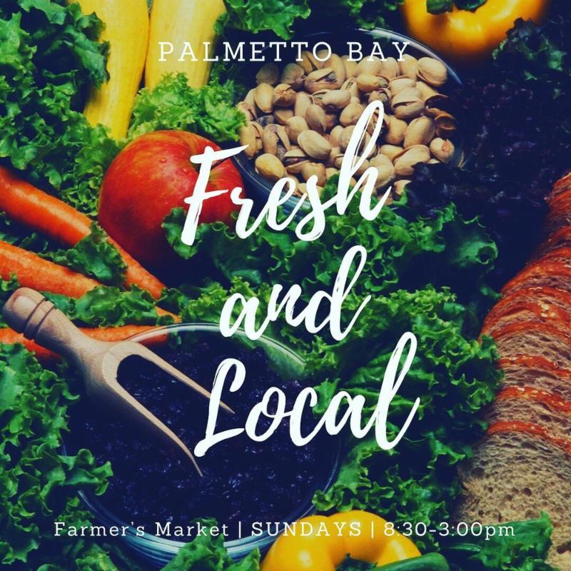 Palmetto Bay Farmers market, fresh and local
