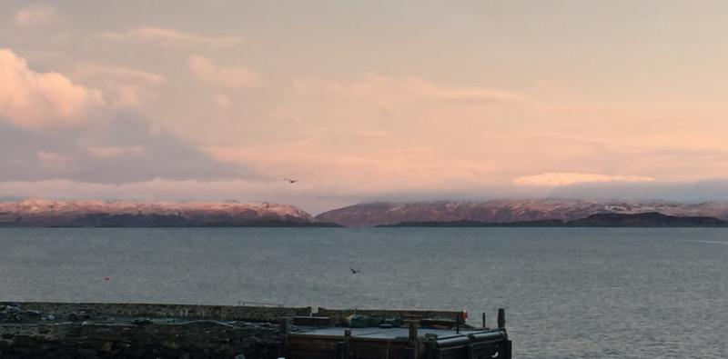 Photo of Isle of Scarba with snow