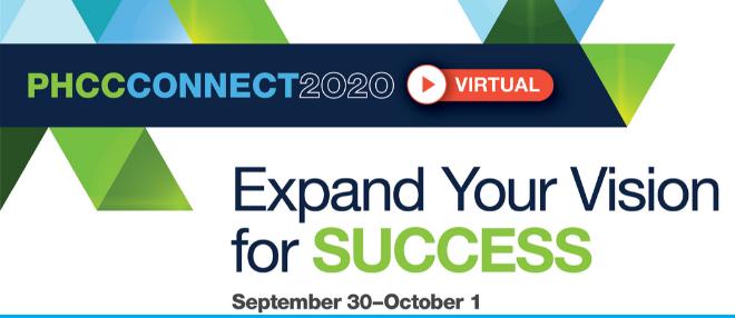 PHCCCONNECT2020 Goes Virtual!