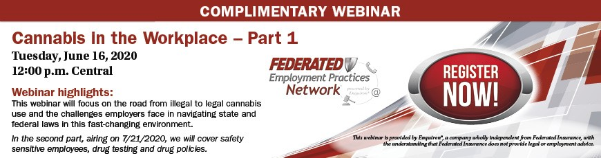 Federated Insurance - Complimentary Webinar