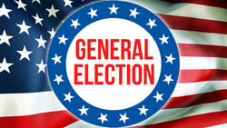 General Election vote-by-mail ballot - Nov 3