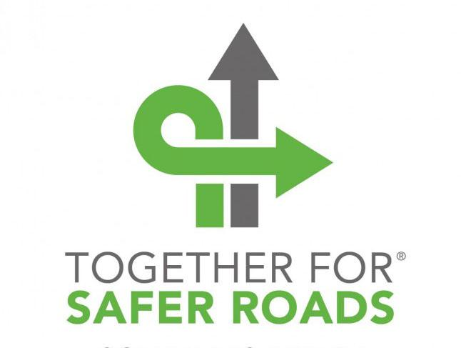 This is the logo for Together For Safer Roads.