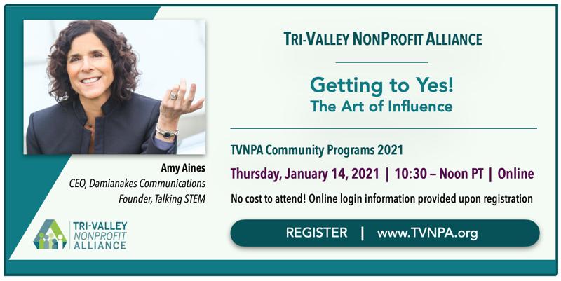 TVNPA Community Program Getting to YES