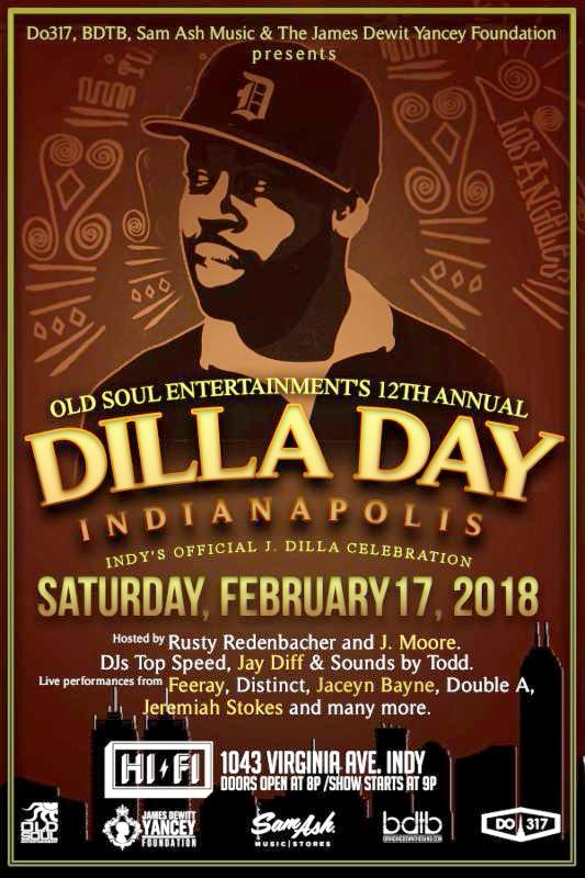 Join us this Saturday for Dr  Dre Day & J Dilla Day Indy at