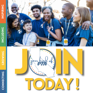 Connecting, Growing, Including, Inspiring Your Kind of PTA Join today!