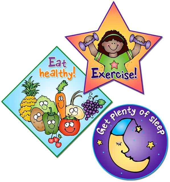 Eat Healthy Exercise Plenty of Sleep