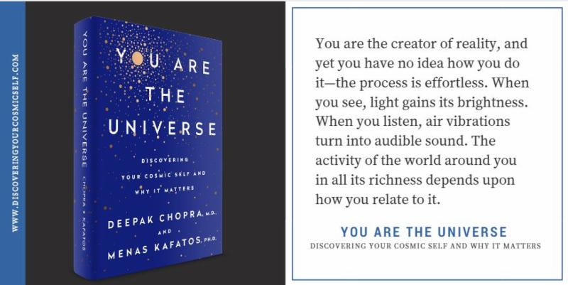 You are the Universe! New book release from SU Professor