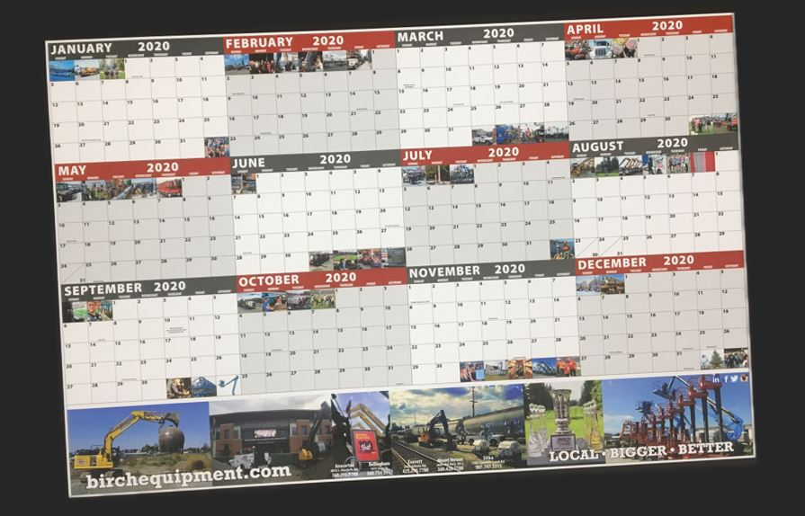 2020 Birch Calendar are here! Get yours before they're all gone.