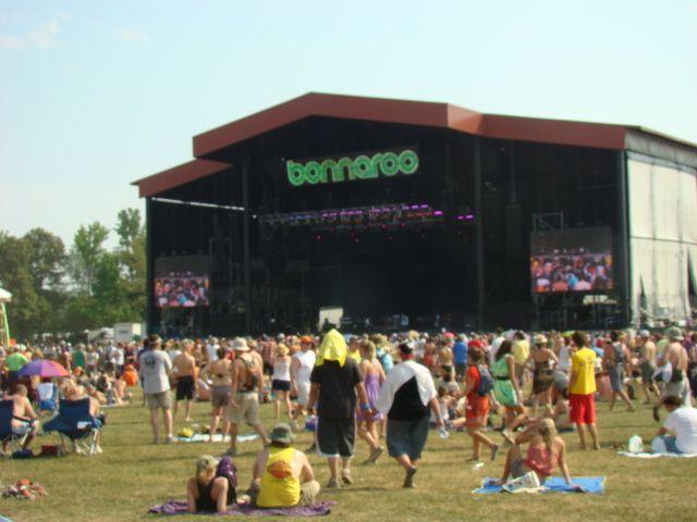 Bonnaroo Stage June 2011